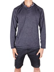 Pull léger Sweat-shirts à capuche Big Men Performance pour hommes SAYFUT Couleur unie Athletic Gym Outwear - SAYFUT