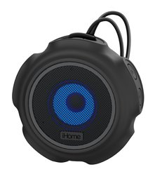 iHome iBT822 Haut-parleur Bluetooth portable à couleurs changeantes